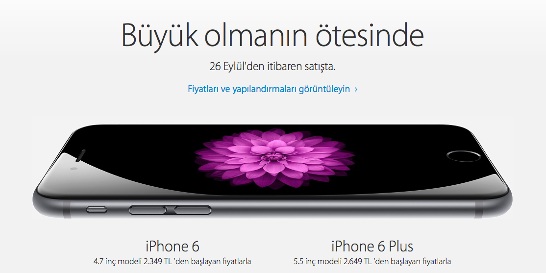 iPhone 6 plus official
