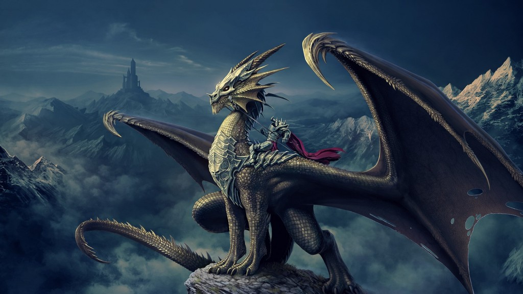 art_nick_deligaris_dragon_rider_mountain_castle_tower_94138_2048x1152